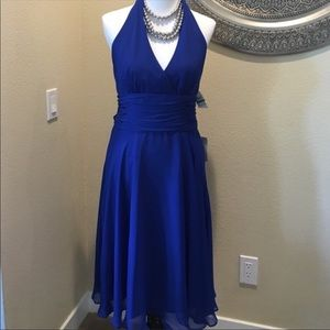Nordstrom Maggy London bleu dress new with tag